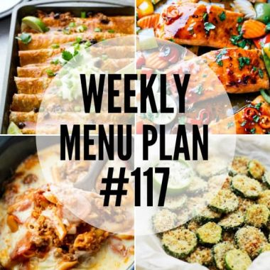 Dinner doesn't get any easier than the recipes in this week's menu plan!