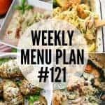 Weekly Menu Plan #121