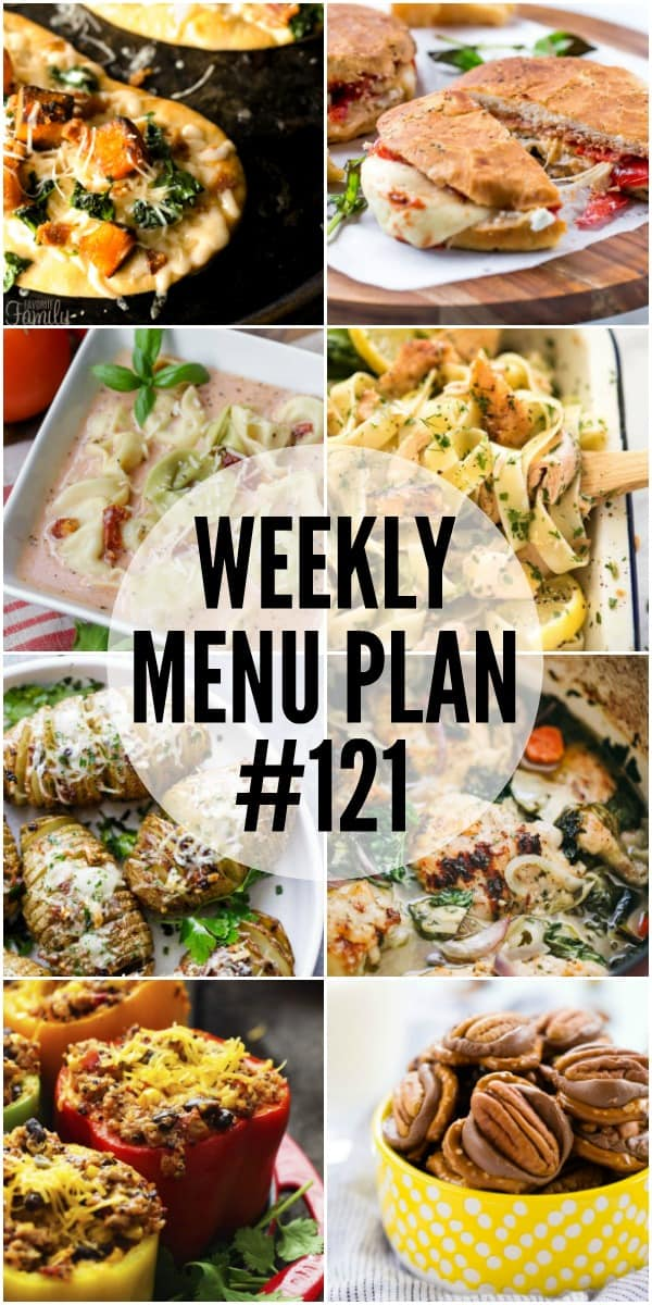 Get ready to dive into some serious comfort food! This week's menu plan recipes are proof food means love!