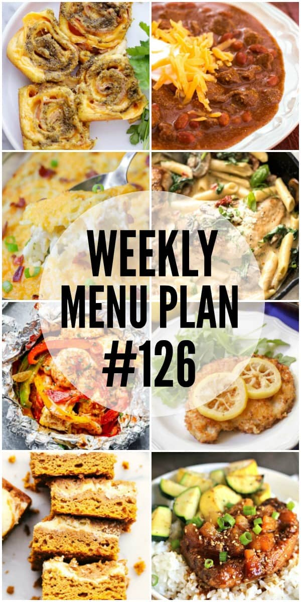 These easy and tasty recipes are sure to be family favorites! You'll want to save all the dishes in this week's menu plan!