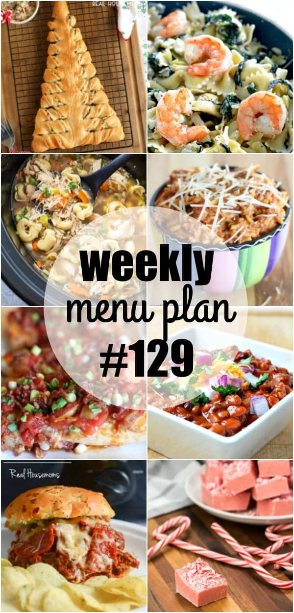 Grab your slow cooker and get ready to have tasty dinners all week long! These menu plan recipes are super easy to make and let your crock pot do all the work!