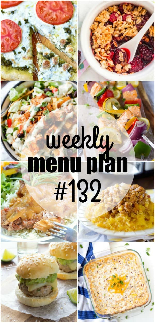Getting dinner on the table doesn't have to be complicated! This week's MENU PLAN recipes are full of flavor and easy to make for quick dinner planning all week long!