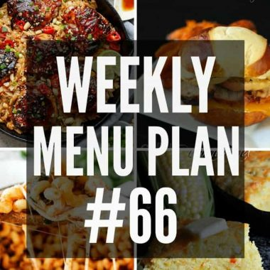 Weekly Menu Plan #66