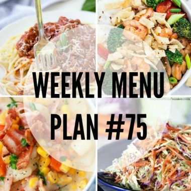 Don't know what to make for dinner? We've got you covered with easy weeknight options and a few holiday favorites in this week's Menu Plan!