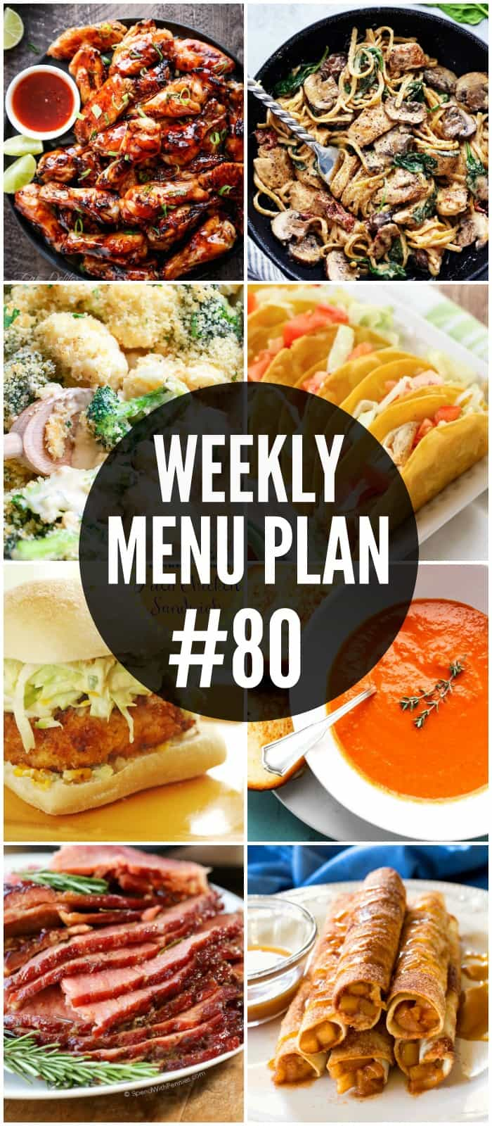 Make getting dinner on the table a snap with these delicious Menu Plan recipes!