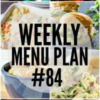 This week's Menu Plan is full of comforting recipes to get you through cold winter nights!
