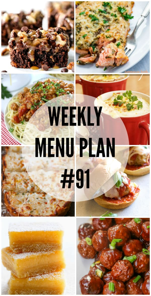 Your family will all me asking for seconds with this week's Menu Plan recipes!