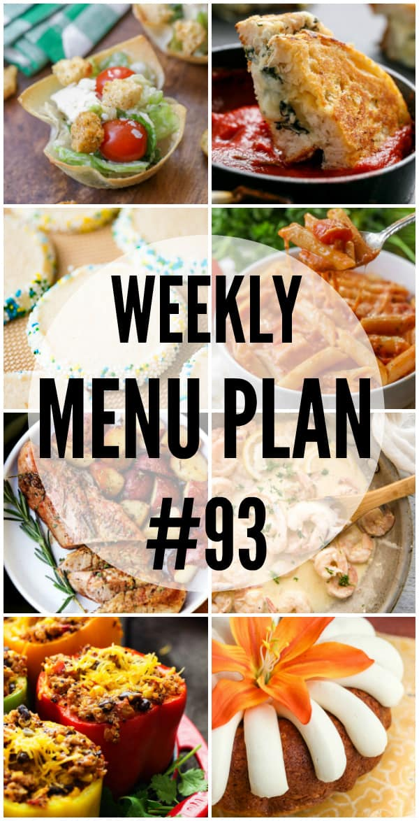 This week's Menu Plan recipes are comfort food at it's finest!