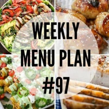 These family favorite Weekly Menu Plan recipes will leave everyone asking for seconds!