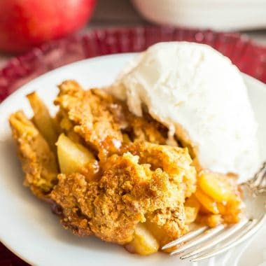 Weight Watchers Apple Cobbler