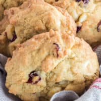 White Chocolate Cherry Pudding Cookies are incredibly soft and tender! With just one taste of these decadent and flavorful cookies, you'll be hooked!