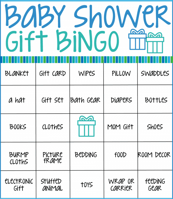 This is an image of Shocking Printable Baby Bingo Cards