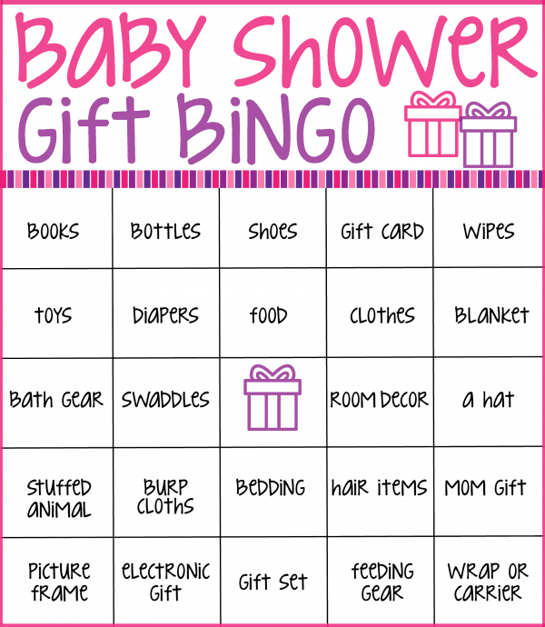 Make your next baby shower memorable with these free printable baby shower bingo cards. Just print the cards, hand out to guests, and see who can get a bingo first while the guest of honor opens gifts!