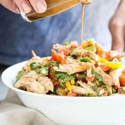 Balsamic Tomato Chicken Salad