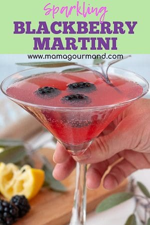 blackberry martini pinterest graphic