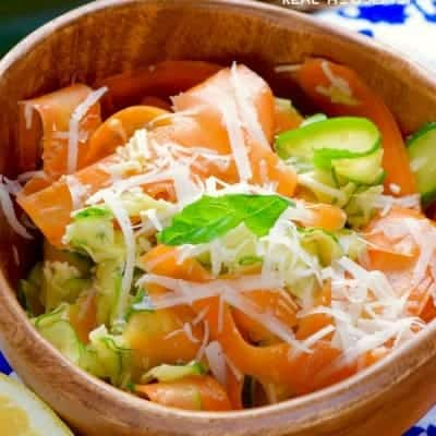 Carrot Zucchini Salad