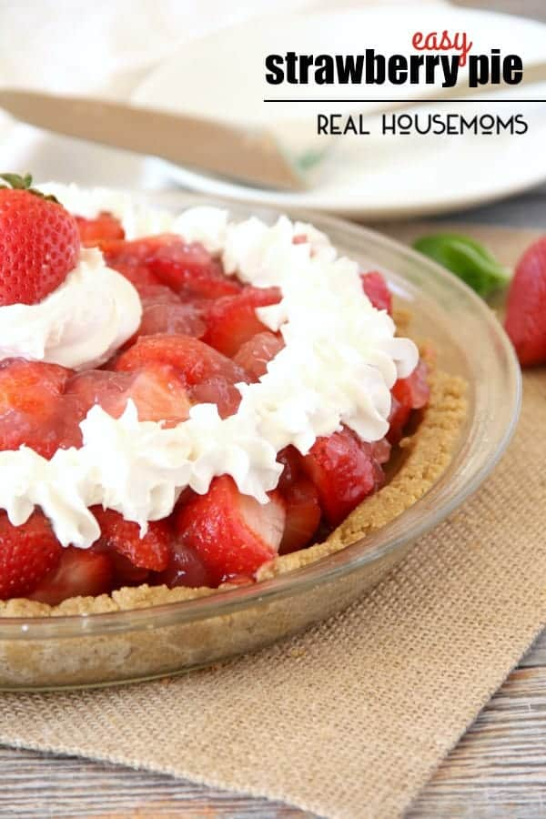 Strawberry pie recipes easy