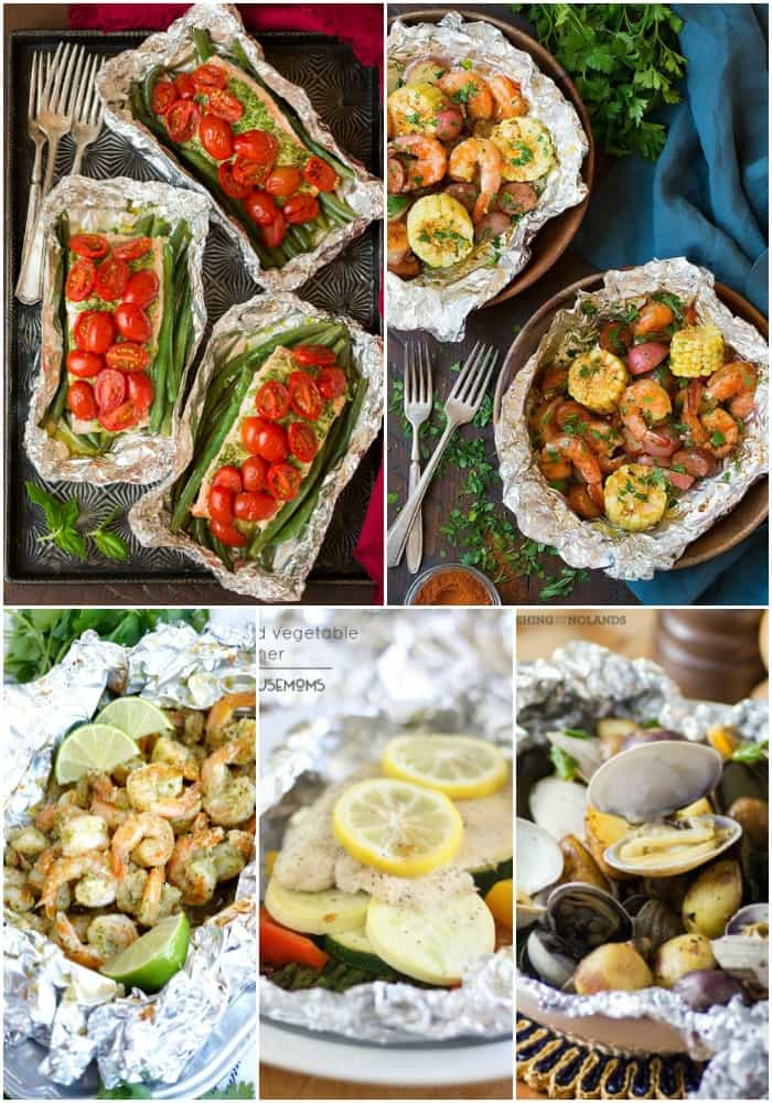 I love grilling during the summer months, but I love dinners with practically no clean up even more. With these 25 FOIL PACKET DINNER FOR YOUR NEXT GRILL OUT I get the best of both worlds! These recipes are great for camping too!