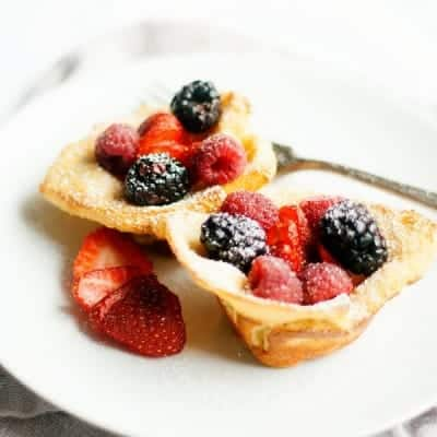 Berry French Toast Cups