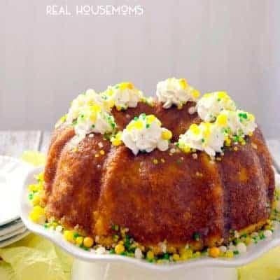 Golden Pineapple Bundt Cake