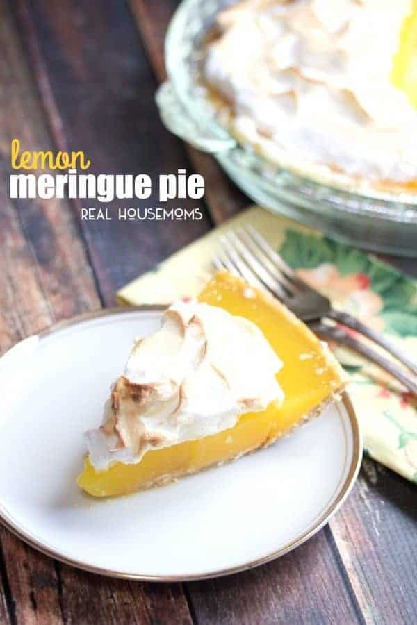 You will want to make this refreshing LEMON MERINGUE PIE loaded with rich lemon flavor on a slightly sweet graham cracker crust!