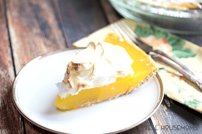 how to make lemon meringue pie with lemon pudding