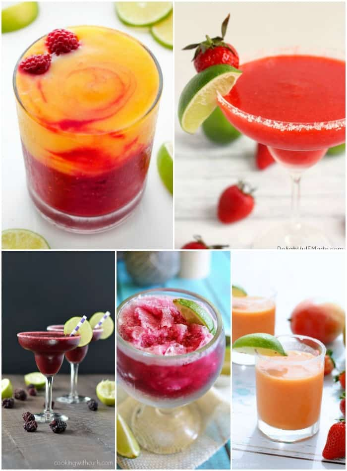 These 25 MUST MAKE MARGARITAS are made for sipping on a warm day with friends!