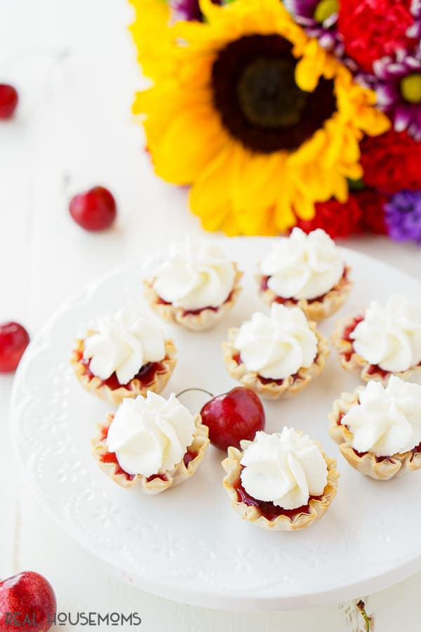 Homemade Cherry Mini Pies have everything I look for in a recipe: deliciousness, simplicity, versatility, and of course, sugar! These tasty little treats are the perfect pint-sized dessert to enjoy this summer.