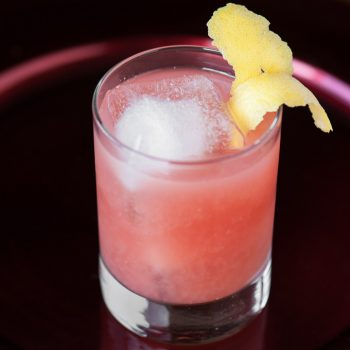 Pomegranate Whiskey Sour
