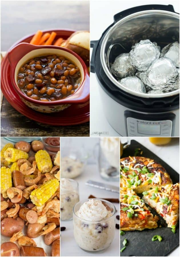 Pressure Cooker Recipe Ideas
