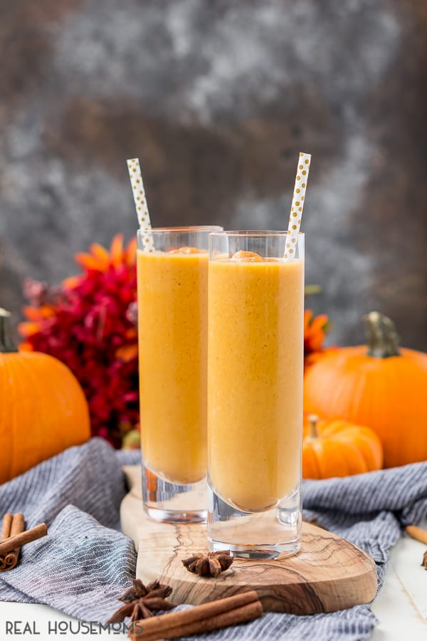 If you've had your fill of lattes but not your fill of pumpkin spice, add this Pumpkin Chai Smoothie into your rotation of fall-flavored goodies so you don't start feeling too over-caffeinated!