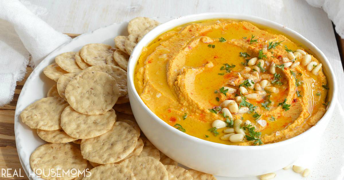 Pumpkin Hummus ⋆ Real Housemoms