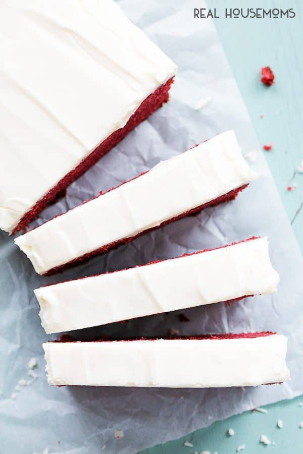 This is the best moist and flavorful RED VELVET POUND CAKE, and it has the most amazing cream cheese frosting that will melt in your mouth!