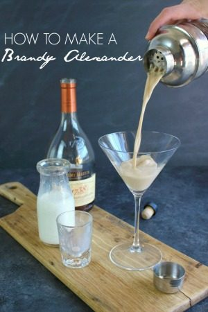How to Make a Brandy Alexander by Delightful E Made