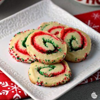 Santas swirl cookies