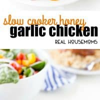 Slow Cooker Honey Garlic Chicken is an easy dinner that can be put together fast, letting you walk away and forget about it. It's so full of flavor your family will be asking you to make it all the time!