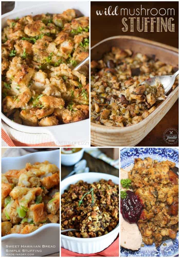 There are a few staples that are always on our Thanksgiving table - turkey, stuffing, and potatoes. These 25 Stuffing Recipes to Make This Holiday are the perfect accompaniment to a festive holiday meal!