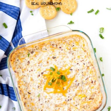 Warm & Cheesy Crack Dip