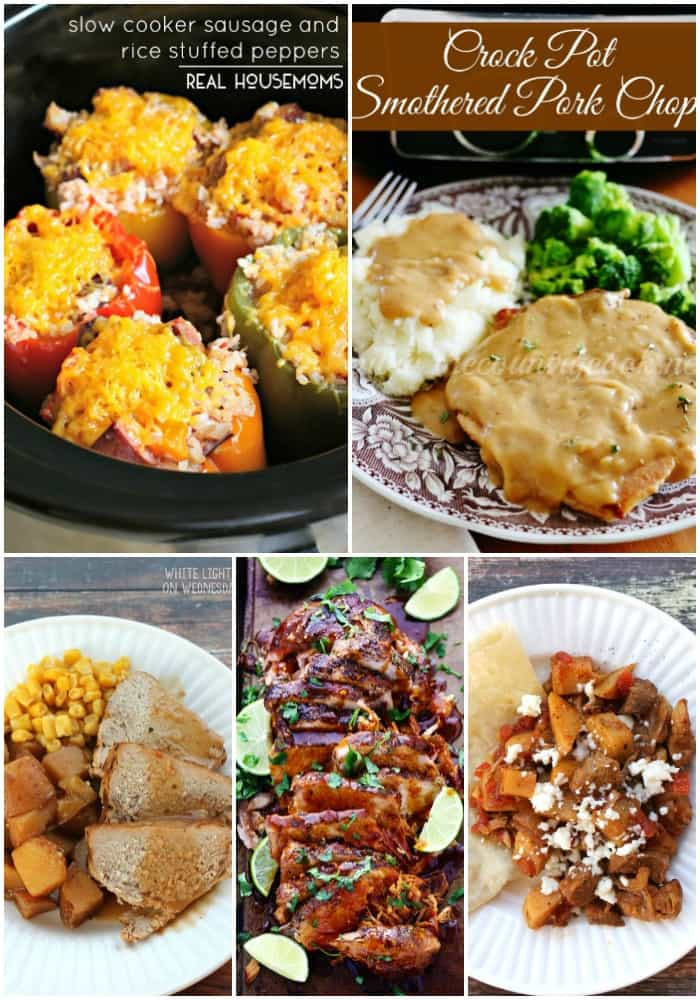 Who says dinner has to be hard? These 25 EASY WEEKNIGHT CROCK POT RECIPES will get dinner on the table with next to no effort!